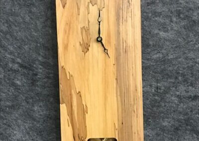 Elm Live Edge Clocks